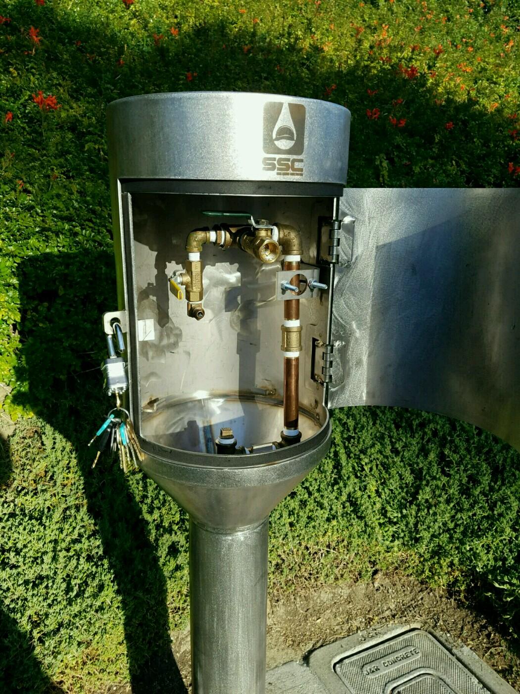 Blow off | Water Sampling Equipment | Steel Source Construction